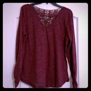 Never worn! Long sleeve sweater